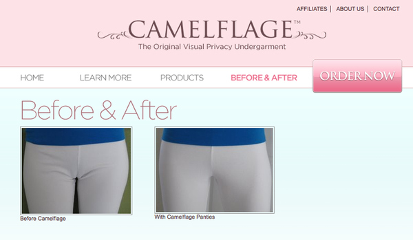 Camelflage: A Cure For Cameltoe
