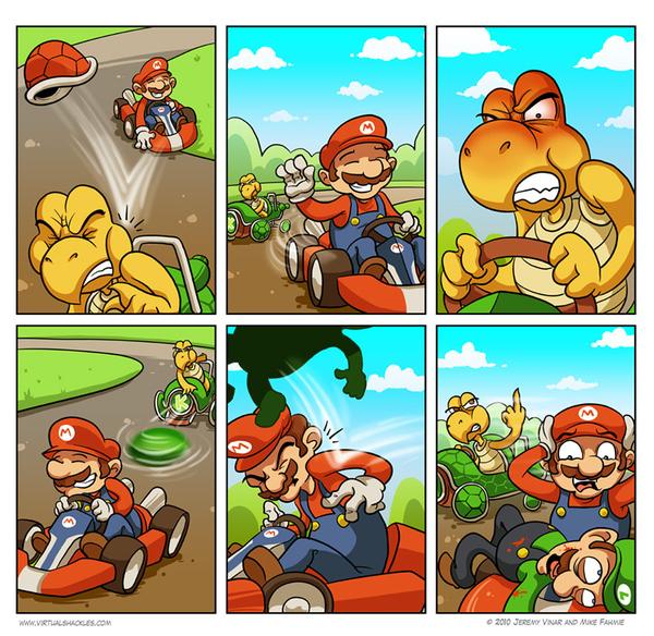 Mario Is A Bastard