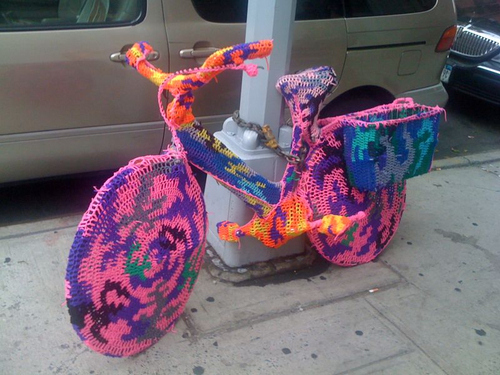 When A Bicycle Needs A Sweater
