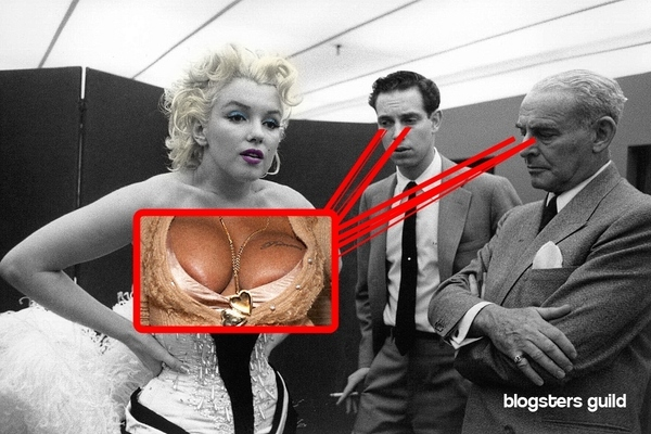 Marilyn's Cleavage Fantasy