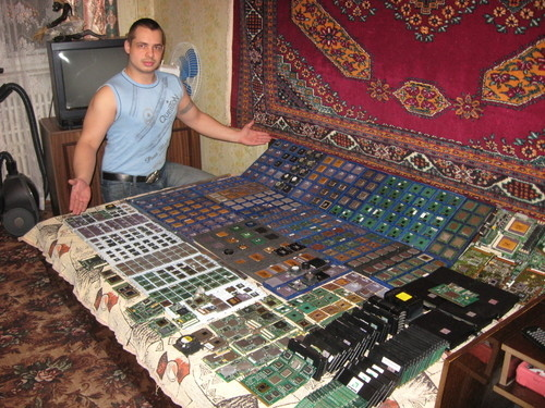 Russian Geek's Processor Collection