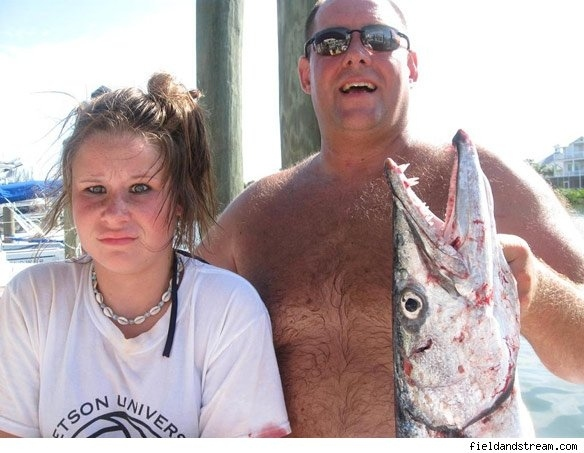 Barracuda Attack = Awesome Family Photo Opp