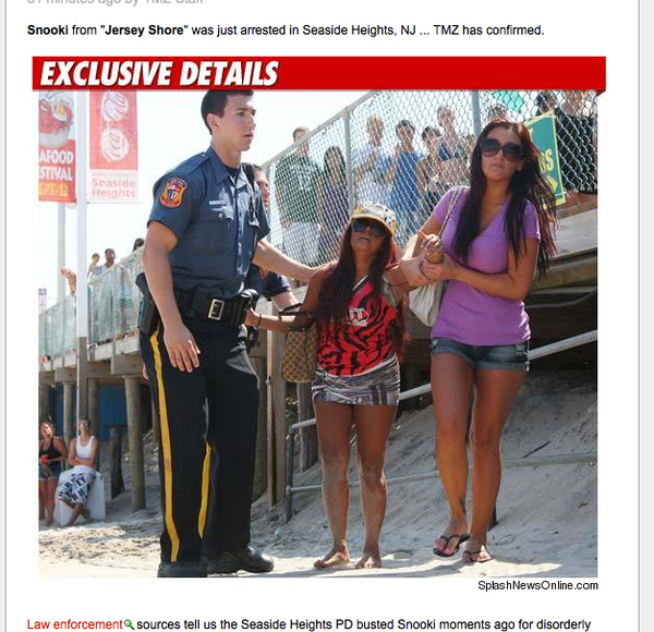 Snooki Arrested!