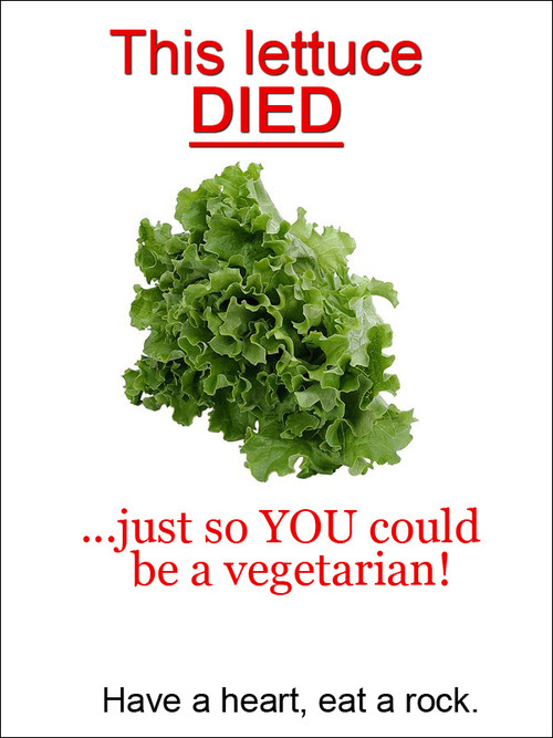 Vegetarians Have No Heart!