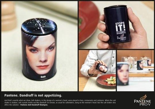 The Dandruff Salt Shaker
