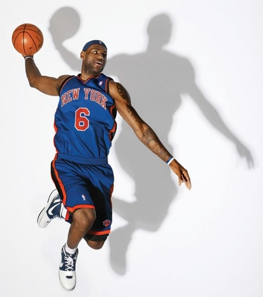 LeBron James - New York Knicks #6
