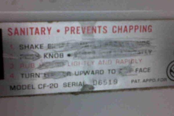 Knob Shaking Instructions
