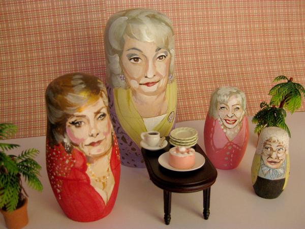Golden Girls Nesting Dolls