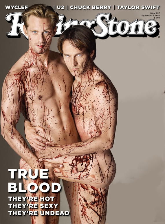The REAL Rolling Stone True Blood Cover NSFW