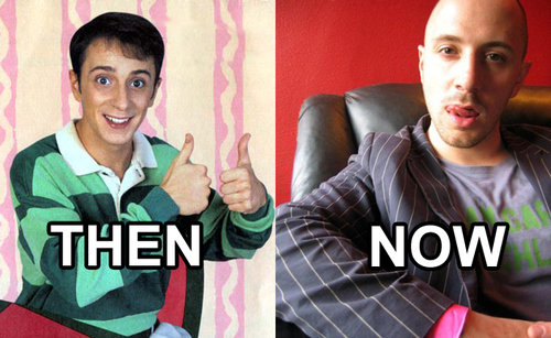 Steve From Blue's Clues: Then and Now