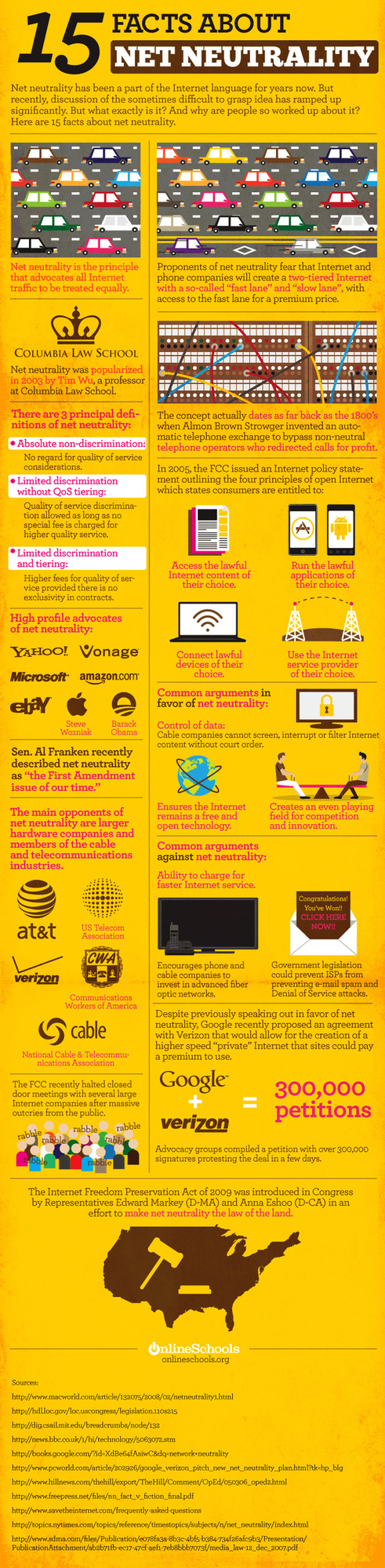 Net Neutrality - The Infographic
