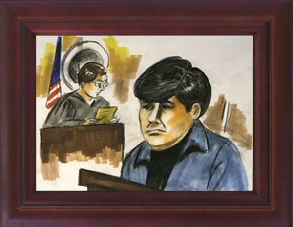 How the Rod Blagojevich Courtroom Sketches Are Just Like Picasso's