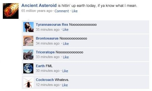 Ancient Asteroid's Facebook