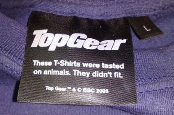 These T-Shirts Were Tested On Animals
