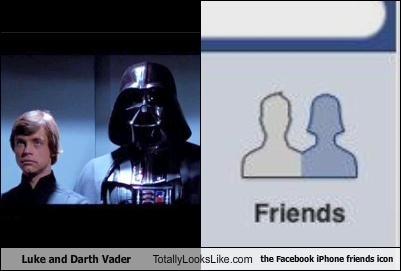 Luke and Vader in Facebook?
