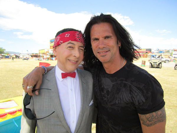 Pee-wee Herman Parties With Lorenzo Lamas