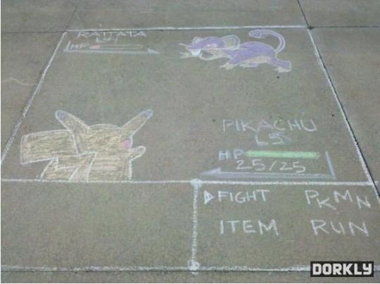Sidewalk Battle Anyone?