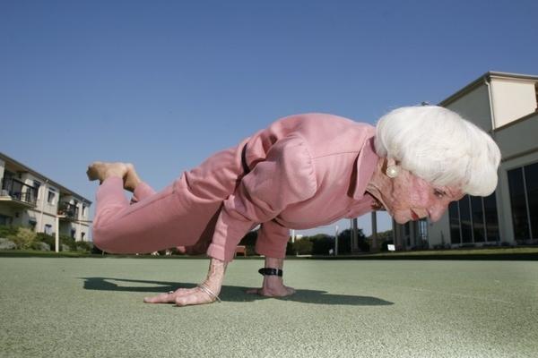 Yoga Supergran: Bro Or Not?