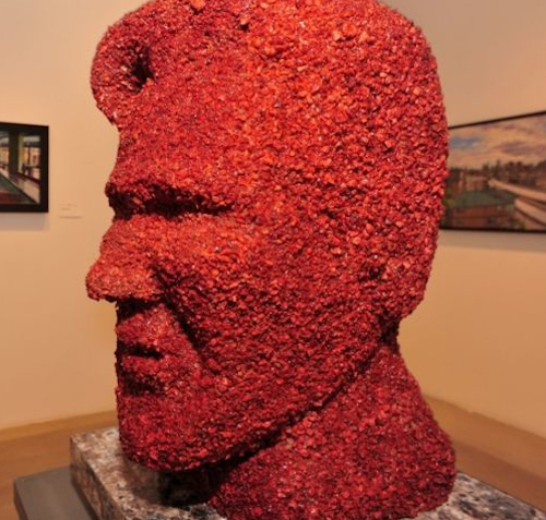 Bacon Kevin Bacon Statue
