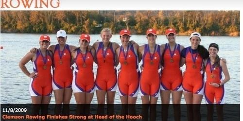 The Clemson Women's Rowing Team