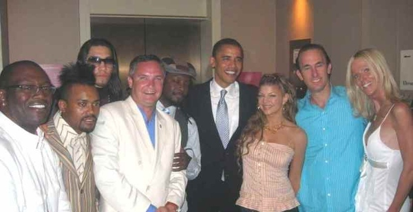 Obama Met Party Crashers Tareq and Michaele Salahi At '08 Polo Event!