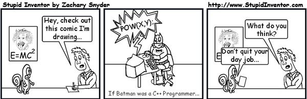 If Batman Was A C++ Programmer