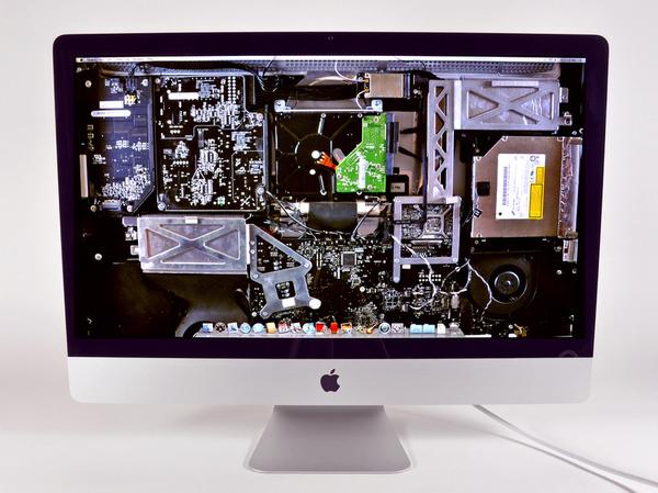 See Thru 27inch Apple IMac