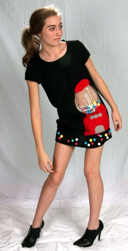 Mmmm Yum, Bubble Gum Dress!