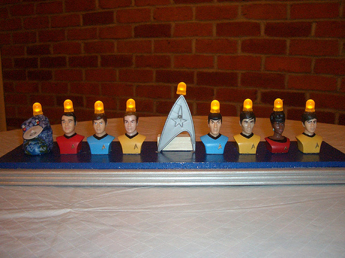 Star Trek Menorah