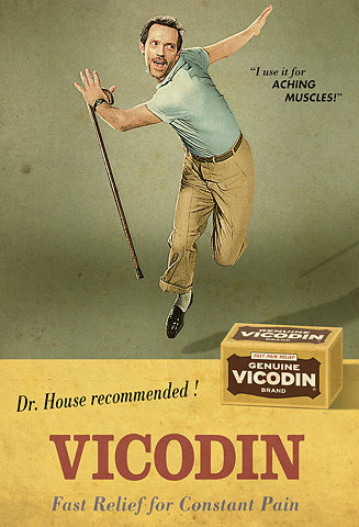 Vicodin: Dr. House Approved