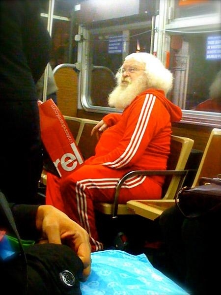 Santa's Gym Clothes