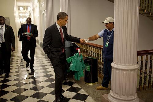 Obama's Fist-Bump