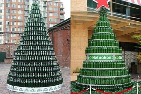 Beer Bottle Christmas Tree Gallery