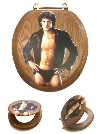 The Hoff Toilet Seat