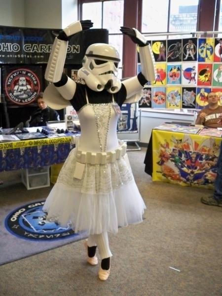 Ballerina Stormtrooper