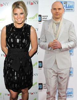 Jessica Simpson And Billy Corgan, Dating?