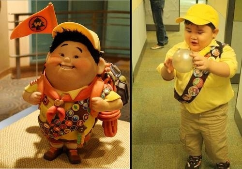 """The Real Boy Based On Russell from """"Up"""""""