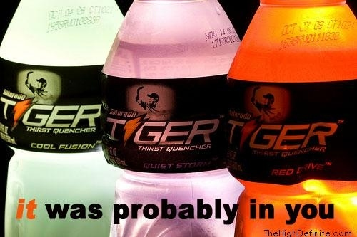 Gatorade Tiger's New Ad Campaign