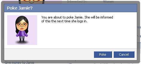 "Facebook ""Poking"""