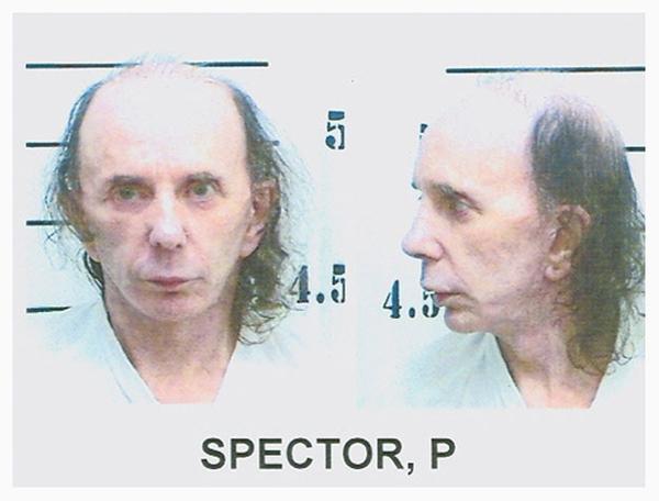 Phil Spector's Wigless Mugshot