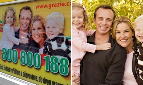 Family Portrait Turns Up on a Czech Billboard