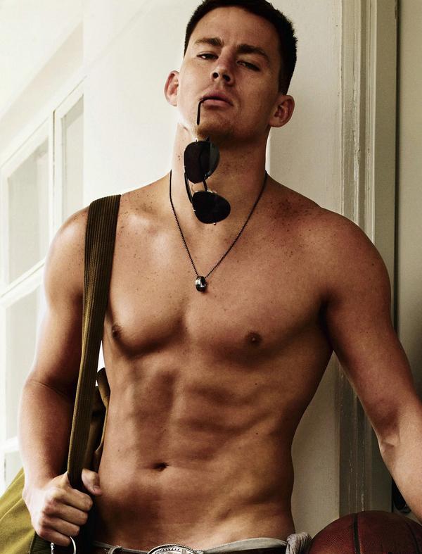 Channing Tatum Shirtless is GQ