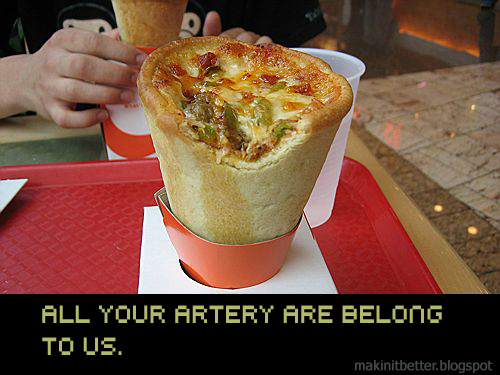 Pizza Cone Warning