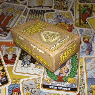 8-Bit Tarot Cards