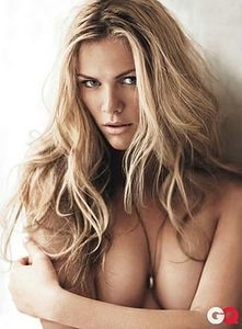 Brooklyn Decker Topless In GQ Magazine
