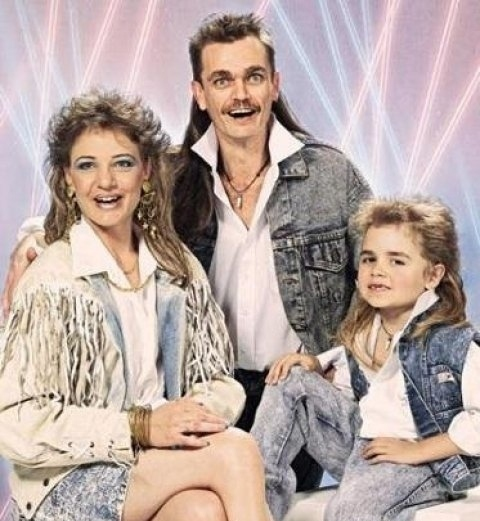 Most Hillbilly Family Portrait