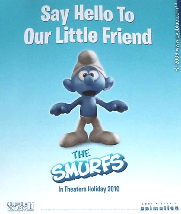 First Look at a CGI Smurf