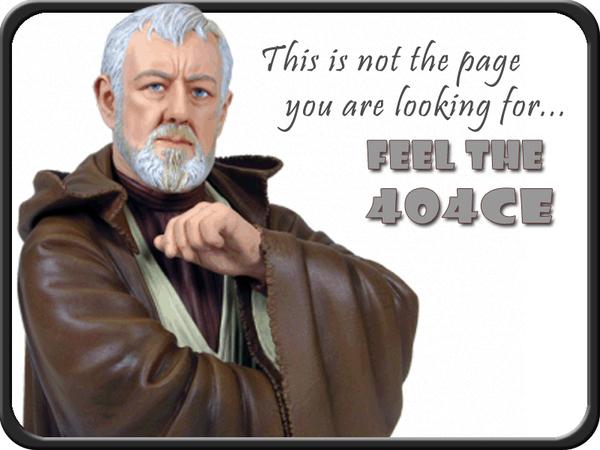Unique 404 Error