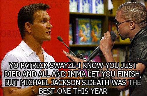 Patrick Swayze, Overrated