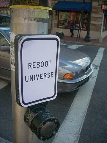 Reboot Universe Button